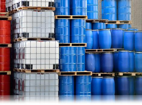 armazenamento de produtos químicos