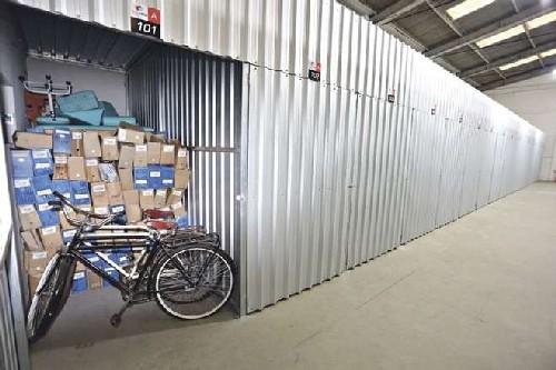 locação de espaço para guardar móveis